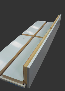 curtain wall insulated pressing