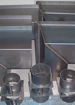 hot rolled steel gutter components