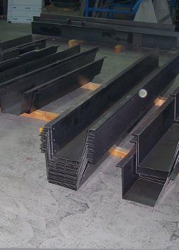 hot rolled steel gutter