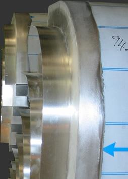 hand built aluminium curved panels
