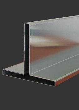 pressed aluminium tee section