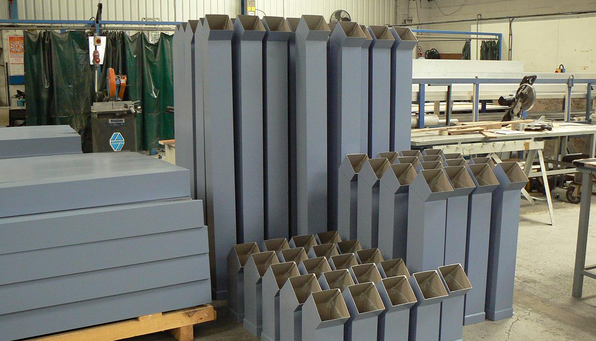 metal rainwater gutters